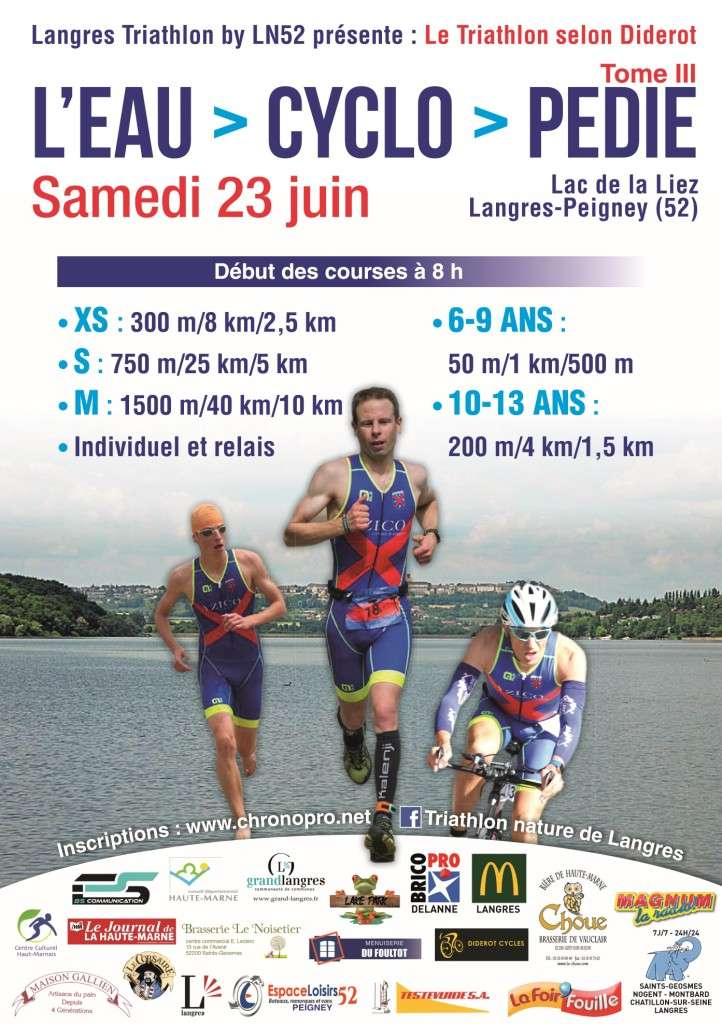 Triathlon Langres 2018